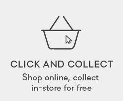 Click and collect. Shop online, collect in-store within five hours.